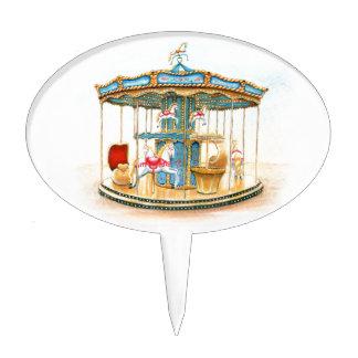 'Carousel Decoración De Tarta