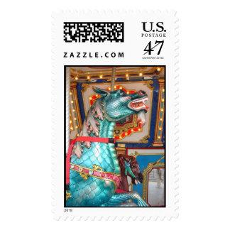 Carousel Dragon Postage