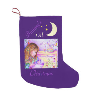 Carousel Dreams 1st Christmas Stocking