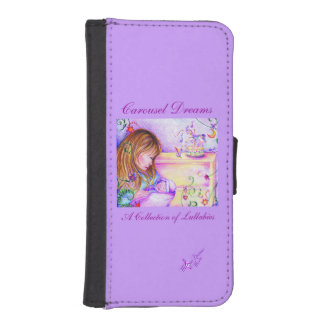 Carousel Dreams iPhone 5/5S Wallet Case