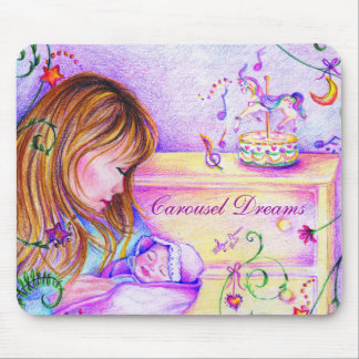 Carousel Dreams Mousepad