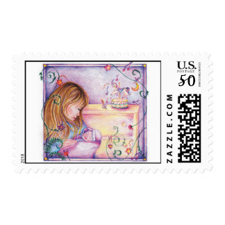 Carousel Dreams Postage Stamp