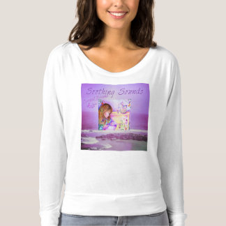 Carousel Dreams Purple Ocean & Sky Bella Flowy T-shirt