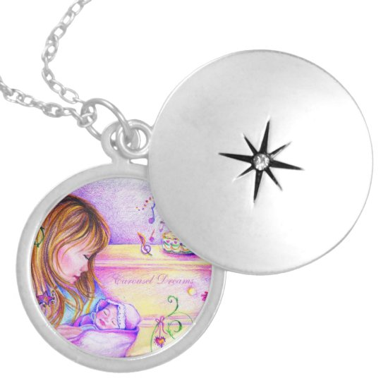 Carousel Dreams Silver Locket