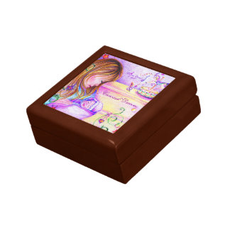 Carousel Dreams Small Square Tile Gift Box