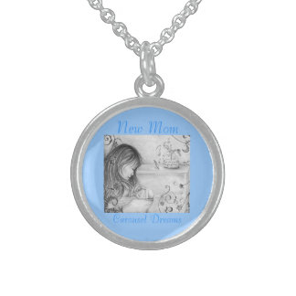Carousel Dreams Sterling Silver Round Necklace