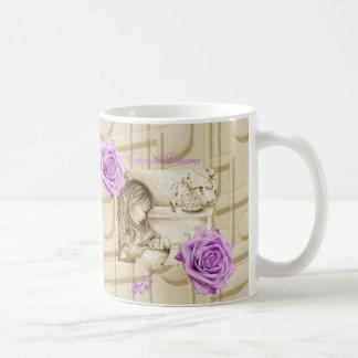 Carousel Dreams Vintage Roses and Music Mug