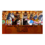 Carousel Entertainment Double-Sided Standard Business Cards (Pack Of 100)