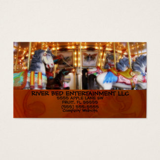 Carousel Entertainment Business Card