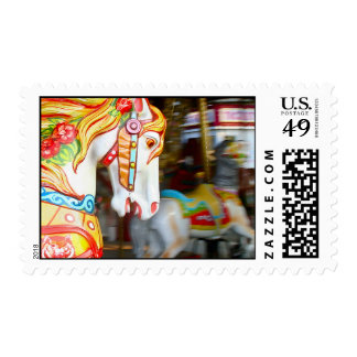 """Carousel Fantasy"" Stamp"