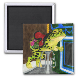 Carousel Frog - Lily Magnet