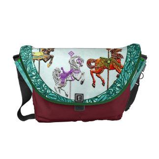 Carousel Fun - Messenger Bag