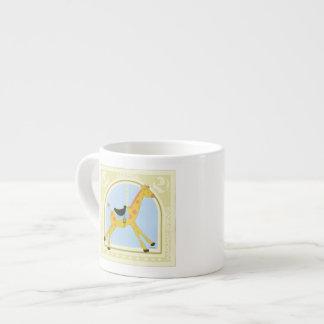 Carousel Giraffe by June Erica Vess Espresso Cup