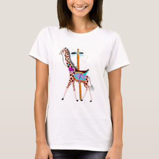 Carousel Giraffe T-Shirt