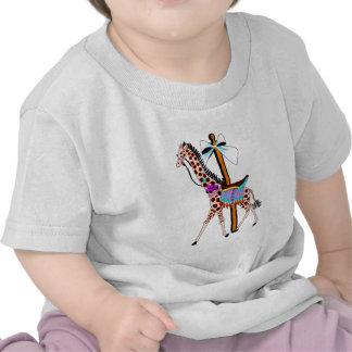 Carousel Giraffe T-shirts