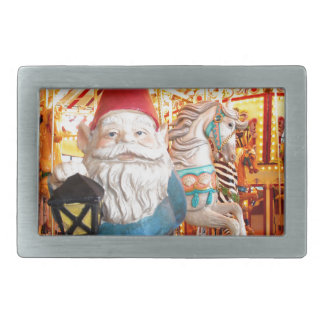 Carousel Gnome Belt Buckles