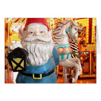 Carousel Gnome Card