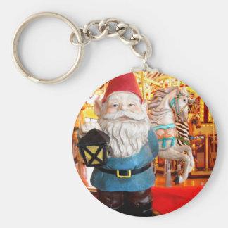 Carousel Gnome Keychain