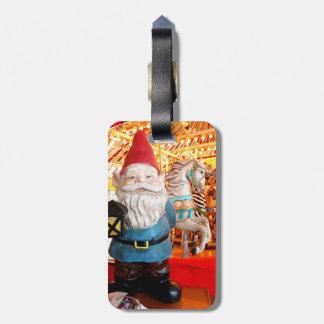 Carousel Gnome Luggage Tags
