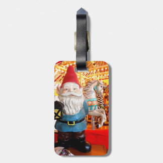 Carousel Gnome Luggage Tags