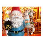 Carousel Gnome Postcard