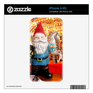 Carousel Gnome Skins For The iPhone 4S