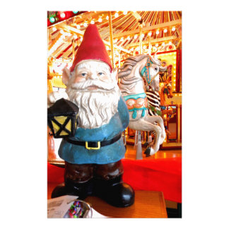 Carousel Gnome Stationery Paper