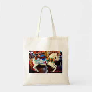 Carousel Horse - 1 Budget Tote Bag