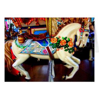 Carousel Horse - 1 Greeting Card