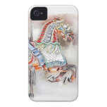 Carousel Horse 1 iPhone 4 Cases