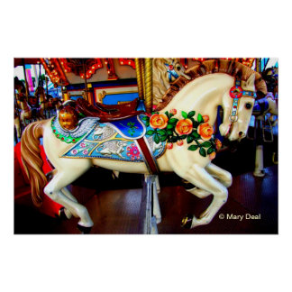 Carousel Horse - 1 Poster