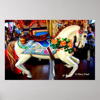 Carousel Horse - 1 Poster
