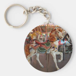 Carousel Horse,2 Keychain