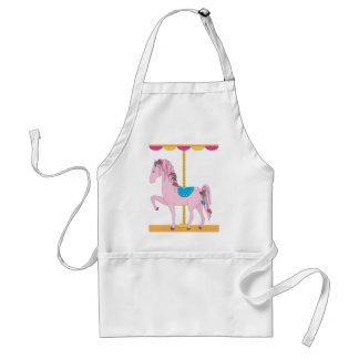 Carousel Horse Adult Apron