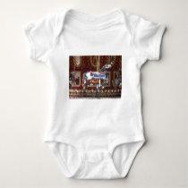 Carousel Horse Baby Bodysuit