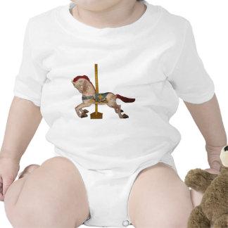 Carousel Horse Baby Creeper