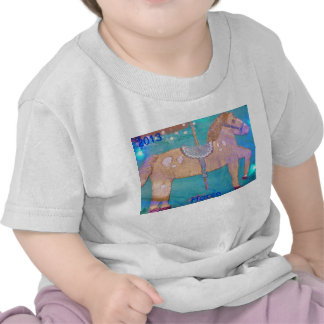 Carousel Horse baby shirt