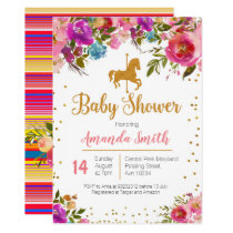 Carousel Horse Baby Shower invitation