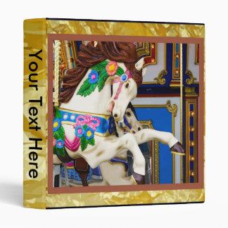 Carousel Horse Binder