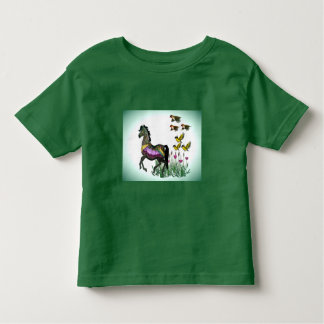 Carousel horse & Birds Toddler T-shirt