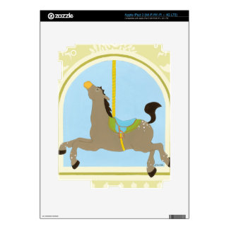 Carousel Horse by June Erica Vess iPad 3 Decal