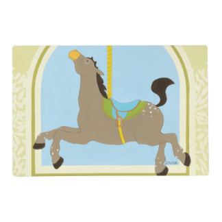 Carousel Horse by June Erica Vess Placemat