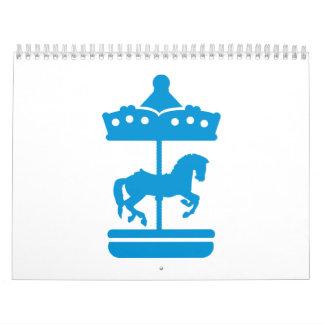 Carousel Horse Calendar