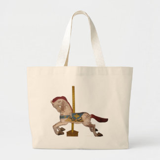 Carousel Horse Canvas Bags