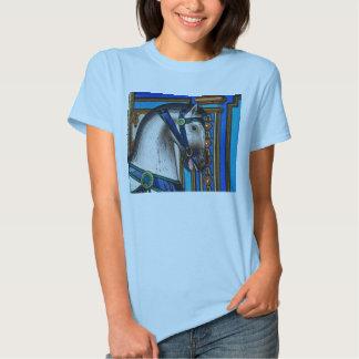 Carousel Horse Charger Tee Shirt