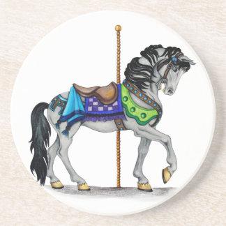 Carousel Horse Beverage Coasters