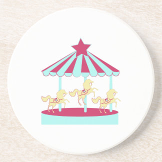 Carousel Horse Drink Coaster