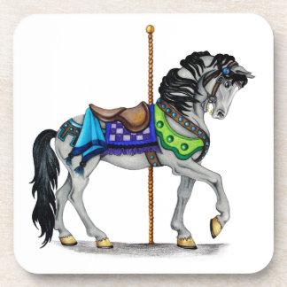 Carousel Horse Beverage Coaster