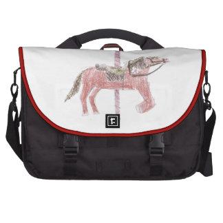 Carousel Horse Design Bag For Laptop