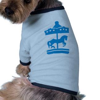 Carousel Horse Doggie T-shirt